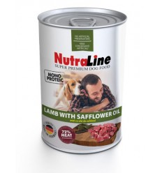 Nutraline Conserva Caine Monoproteica Miel, 800g