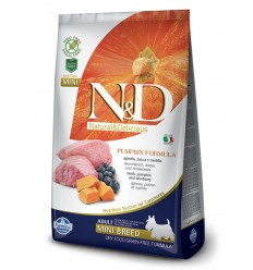 N&D Dog Grain Free Miel, Afine & Dovleac Adult Mini