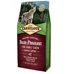 Carnilove Cat Adult Hairball Control Duck & Pheasant