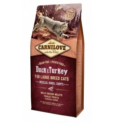 Carnilove Cat Large Breed Rata & Curcan, 6kg
