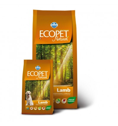 Ecopet Natural Lamb Adult Maxi 12kg