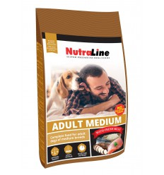 Nutraline Dog Adult Medium, 12.5kg