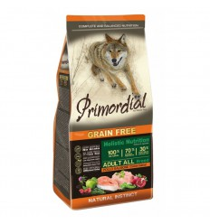 Primordial Dog Grain Free Adult Chicken & Salmon, 12kg