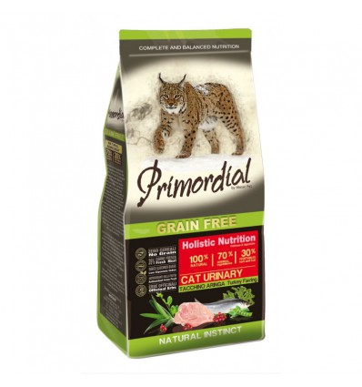 Primordial Cat Grain Free Urinary Turkey & Hering, 6kg