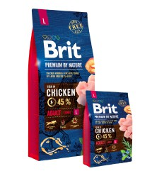 Brit Premium by Nature Adult Dog L, 15 kg