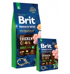 Brit Premium by Nature Adult Dog XL 15kg