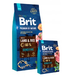 Brit Premium by Nature Sensitive Lamb, 15kg