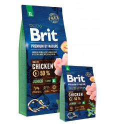 Brit Premium by Nature Junior XL, 15kg