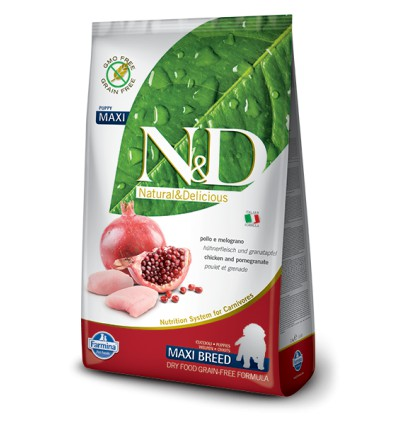 N&D Dog Grain Free Pui & Rodie Puppy Maxi, 12kg