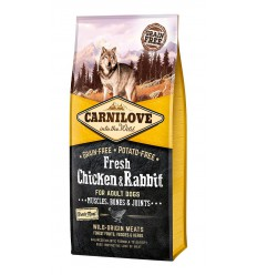 Carnilove Dog Fresh Chicken & Rabbit, 12kg