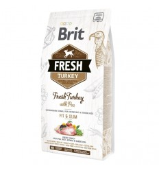 Brit Fresh Turkey with Pea Adult Fit & Slim, 12kg