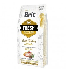 Brit Fresh Chicken and Potato Adult Great Life, 12kg