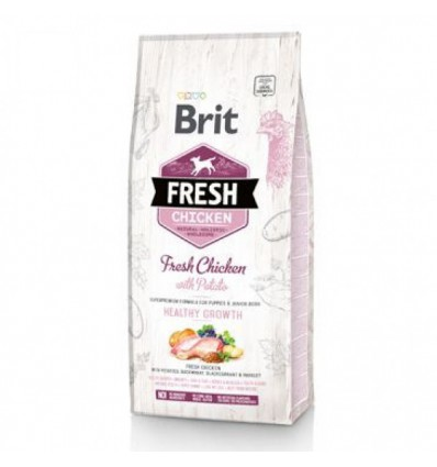 Brit Fresh Chicken and Potato Puppy Healthy Growth, 12kg