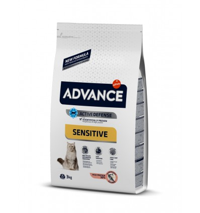 Harna pentru pisici Advance Cat Adult Salmon & Rice