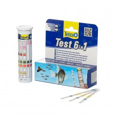 Tetra Test 6in1, 25 strips