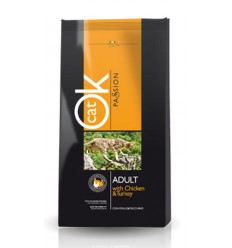 Ok Cat Passion Adult Chicken, 12.5kg