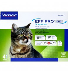 EffiPro Duo Cat, 4 pipete