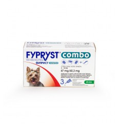 Fypryst Combo Dog, 3 pipete