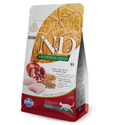 N&D Low Grain Pisica Pui & Rodie,