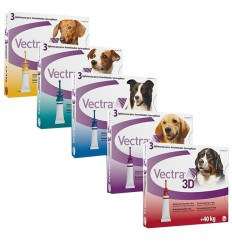 Vectra 3D Dog, 3 pipete