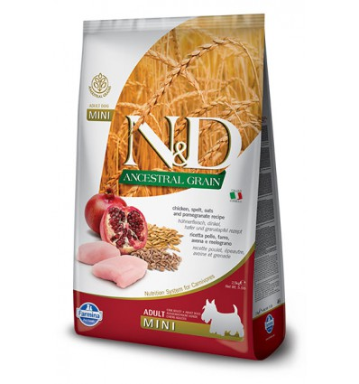N&D Low Grain Pui & Rodie Adult Mini