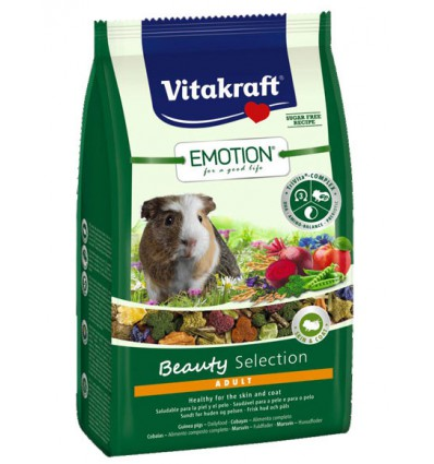 Vitakraft Meniu Porcusori Guineea Emotion Beauty Selection, 600g