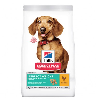 Hill's Canine Adult Mini Perfect Weight, 1.5 kg