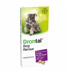 Drontal Dog Flavour, 6 tablete
