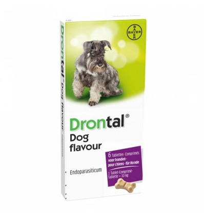 Drontal Dog Flavour,
