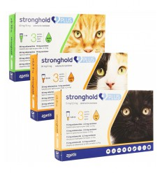 Stronghold Plus Pisica, 3 pipete