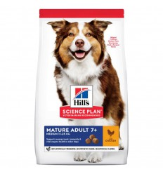 Hill's Canine Mature 7+ Chicken, 14 kg