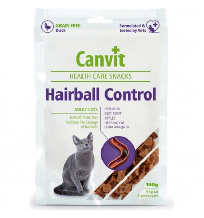 Canvit Health Care Snack Hairball, 100 grame