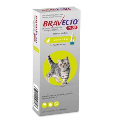 Bravecto Plus Cat