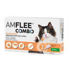 Amflee Combo Cat, 3 pipete