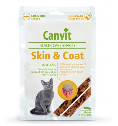 Canvit Cat Health Skin & Coat, 100 grame