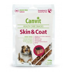 Canvit Dog Health Care Snack Skin & Coat, 200 grame