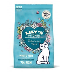 Lily's Kitchen Adult Cat White Fish & Salmon Fisherman's Feast, 2 kg