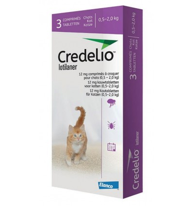 Credelio Cat, 3 tablete