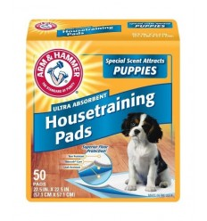 Arm & Hammer Covorase Absorbante Puppy, 50 buc