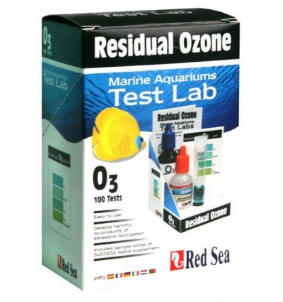 Red Sea Ozone Residuall Test Lab