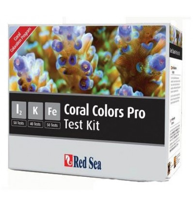 Red Sea Reef Colors Pro Multitest Kit