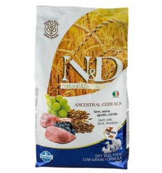 N&D Low Grain Miel & Afine Adult Mini, 7kg