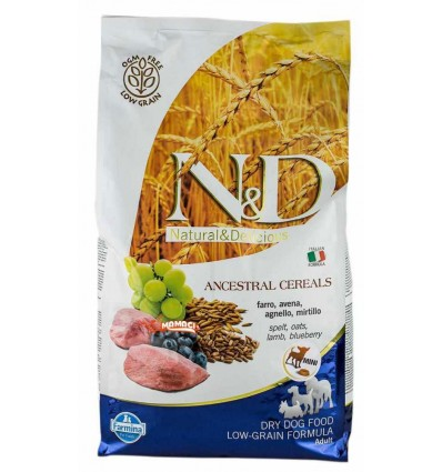 N&D Low Grain Miel & Afine Mini 12kg
