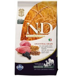 N&D Low Grain Miel & Afine Adult Medium, 12kg