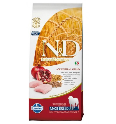 N&D Low Grain Pui & Rodie Adult Maxi 12kg