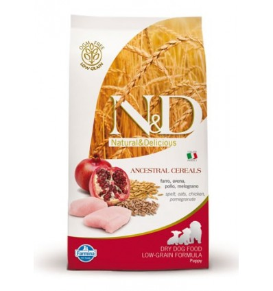 N&D Low Grain Puppy Mini Pui & Rodie 12kg