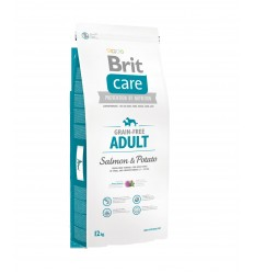 Brit Care Adult Grain Free Somon & Cartofi, 12kg