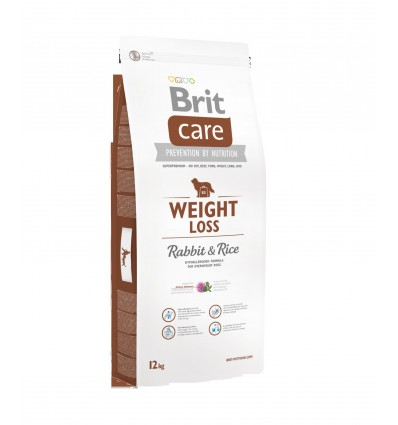 Brit Care Weight Loss Iepure si Orez 12kg