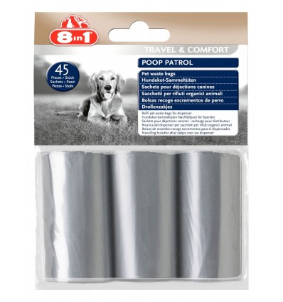 8in1 Poop Patrol & Pet Waste Bags Refill