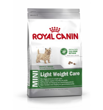 Hrana pentru caini Royal Canin Mini Light WeightCare 8kg